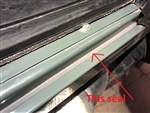 Foam Seal Betweem Steel inner sill and Aluminium outer Sill Def & Series (S)
