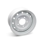Steel Wheel Heavy Duty  Steel Wolf Style 6.5x16 White