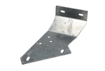 LH Chassis to Bulkhead Footwell bracket Galvanised