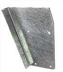 LH Rear Tub Capping Triangle Plate Galvanised (S)