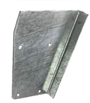 RH Rear Tub Capping Triangle Plate Galvanised (S)