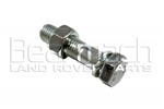 Bolt and Nut for Fitting Tow Ball - High Tensile Steel - Comes as One Bolt and One Nut
