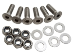 BONNET HINGE BOLT KIT STAINLESS STEEL (S)