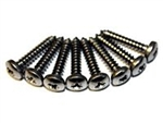 Def Stainless Steel Front Grill screws x8