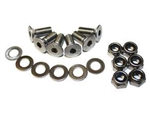 BONNET HINGE BOLT KIT STAINLESS STEEL