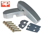 Def Windscreen Bulkhead Bracket Kit SILVER