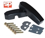 Windscreen Bulkhead Bracket Kit (Black) For Def (May come with marks or scratches)