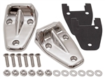 Stainless Steel Bonnet hinge kit for Defender 83-16