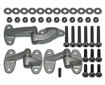 Rear Door Hinges and Bolts kit With Stainless Steel Bolts