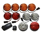 Standard Size 73mm LED Lamp Kit - Coloured - DELUXE 14 Piece