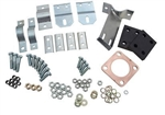 Fitting Kit For Land Rover Series SWB Exhaust - For Left Hand Drive Short Wheel Base