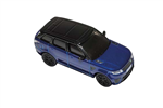 Die-Cast For Range Rover Sport SVR in Blue - Scale 1:76