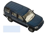 Die-Cast Model For Land Rover Discovery 3 - In Cairns Blue Metallic - Scale 1:76