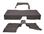 Moulded Mat System in Grey - By Wright's Off Road For Land Rover Series