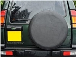 Wheel Cover In Plain Black Vinyl - Fits 235 x 70 16 and 255 x 55 x 18 For Land Rover
