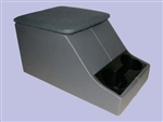 Cubby Box - Grey Base With Vinyl Twill Top - Can Also Be Fitted For Series, Defender