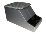 Cubby Box - Grey Base With Techno Top - Can Also Be Fitted For Series, Defender