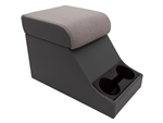 XS Style 'Chubby' Cubby Box - Grey Base With High Top Grey XS Lid - Can Also Be Fitted For Series, Defender