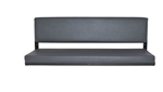 Elongated Rear Bench Seat In Grey - For Series LWB/Defender 110 Vehicles