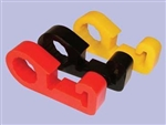 Anti-Rattle Jack Clamp - Yellow