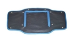 Radiator Muff for Land Rover Series 2 & Early 2A - In Black with Blue Edging