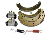 Front Brake Cylinder and Shoes Kit - Short Wheel Base - Fits up to June 1980 - Aftermarket and OEM Available For Series 2 & 3