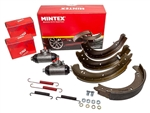 OEM Front Brake Cylinder and Shoes Kit - Short Wheel Base - Fits up to June 1980 - Aftermarket and OEM Available For Series 2 & 3