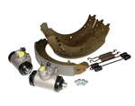 Rear Brake Cylinder and Shoe Kit - Long Wheel Base All Vehicles - Aftermarket and OEM Available For Land Rover Series 2 & 3