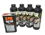 Raptor 4 Litre Kit in Black Finish - Durable Protective Coating for Almost Any Surface