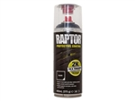 Raptor 2K Black Aerosol - Single 400ml Can - FOR UK SALES ONLY