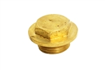 300 Tdi Thermostat Housing Plug - Brass