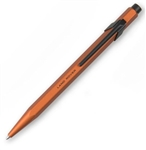 Orange For Land Rover Pen by Caran C'Ache - Aluminium Pen