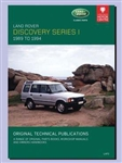 Technical Publication On CD - Discovery Series 1 (1989-1994)