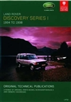 Technical Publication On CD - Discovery Series 1 (1994-1998)
