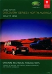 Technical Publication On CD - Discovery Series 1 - North American (1994-1998)