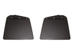 Pair Front Mudflaps with brackets for 83-16 Def 90 110 130