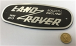 LAND ROVER Heritage Grill Oval Badge (GEN LR)