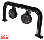 Black A bar & 2x LED 51w Spotlights for Def (non air con)