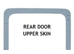 DEF/ SERIES REAR DOOR UPPER SKIN (ALUMINIUM)