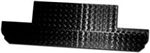 90 Bulkhead Panel Chequer Plate 2MM BLACK