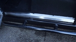 Stainless Steel Front Door Sill Covers (Pair) + Stainless Bolt Kit (S)