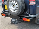 DA5646 Heavy Duty Rear Bumper for Discovery 2