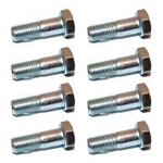 Propshaft Bolts 3/8' UNF (PACK OF 8) for Defender, Discovery, Classic - Comes as a Quantity of 8