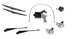 Front Wiper Kit Defender up to 2001 - Right Hand Drive - Everything Required to Recondition Your Motor, Wheel Boxes Etc