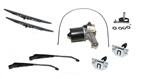 Front Wiper Kit Defender 2002-2016 - Left Hand Drive - Everything Required to Recondition Your Motor, Wheel Boxes Etc