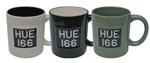 Mug in Green - Taking Inspiration from the Original Licence Plate of the Series I, the HUE 166 For Land Rover