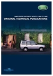 Land Rover Discovery 1 - Land Rover Original Technical Publications DVD - For Discovery 1989-1998