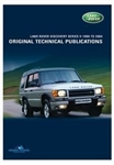 Discovery II TD5 - Land Rover Original Technical Publications DVD - For Discovery 1998-2004