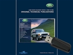 Discovery II TD5 - Land Rover Original Technical Publications USB Stick - For Discovery 1998-2004