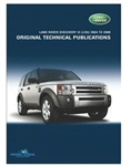 Original Technical Publications DVD - For Discovery 2005-2009, Discovery 3 - Land Rover